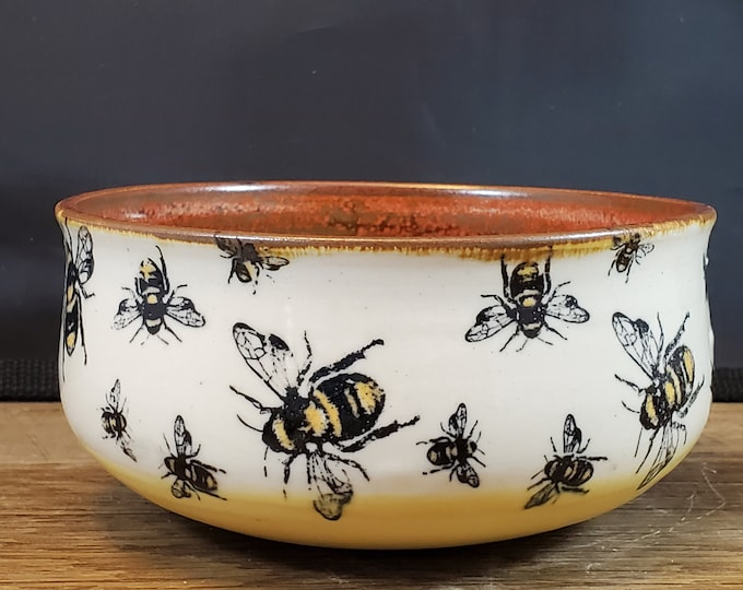 Featured listing image: Cereal bowl, Bee Bowl