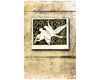 Love Birds Photo, Wedding, Anniversary Gift, France Photography, Beige Linen, Travel Photography, Cottage Chic