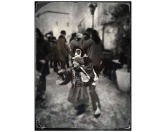 Finding the Joy, France, Carnaval Photo, Limoux Carnival, Female Pierrot, Travel Photography