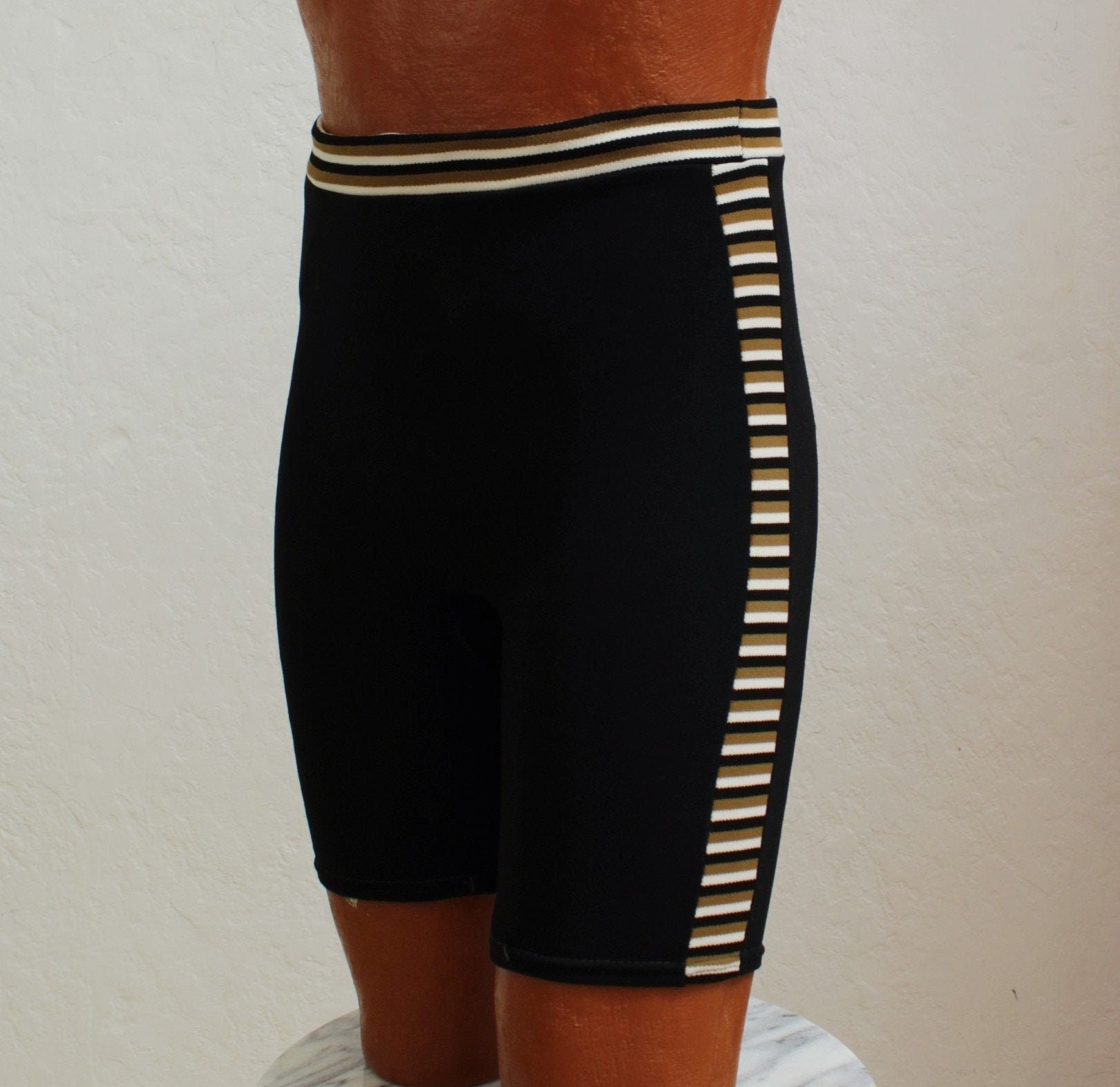 1960s – 70s Men's Ties | Skinny Ties, Slim Ties 1960s Campus Mens Swim TrunksSwimwear Size 28 - 30 Waist $65.00 AT vintagedancer.com