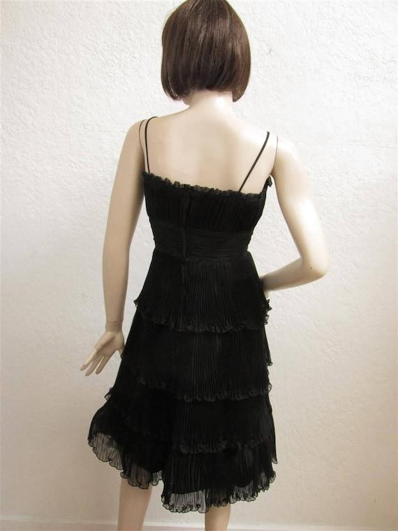 """1950's """"Suzy Perette"""" Black Cocktail Party Dress … - image 2"""
