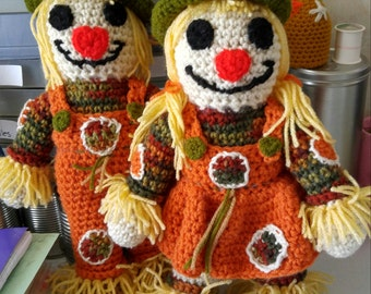 Scarecrow Couple (Boy & Girl)