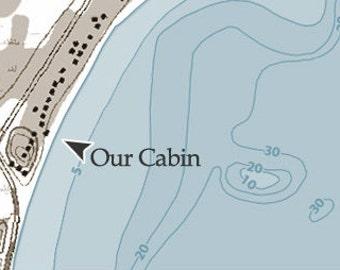 Custom Icon - Locate Your Cabin!