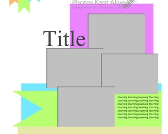 Scrapbooking Template for Panstoria Artisan (.page file)