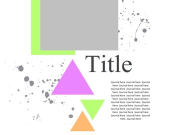 Scrapbooking Template for Panstoria Artisan