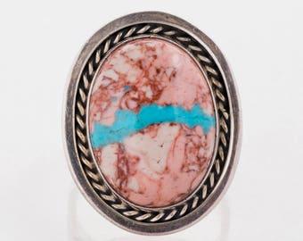 Vintage Ring - Vintage Jasper Sterling Silver Ring