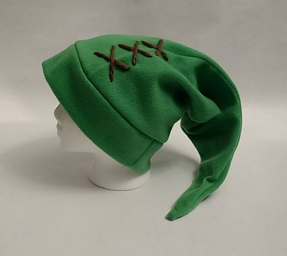 7381f446d67 Link Stocking Cap Fleece Winter Hat Zelda TEEN or ADULT