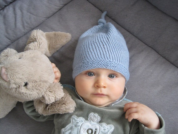 ... hot knit baby hat knitted baby beanie blue baby boy knit hat knit etsy  3cd72 f21cb 7d448bb2800