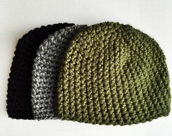 5ac6d11e3d0 One Hour Beanie Crochet Pattern Bundle - Easy Crochet Hat Pattern - Crochet  Beanie Pattern for Men - Easy Beanie Crochet Pattern