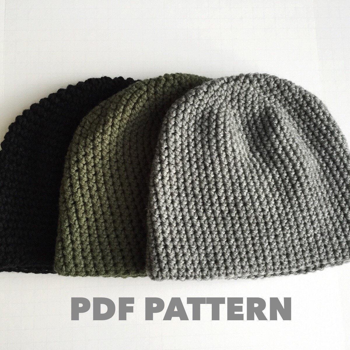Mens Crochet Hat Patterns New Inspiration Ideas