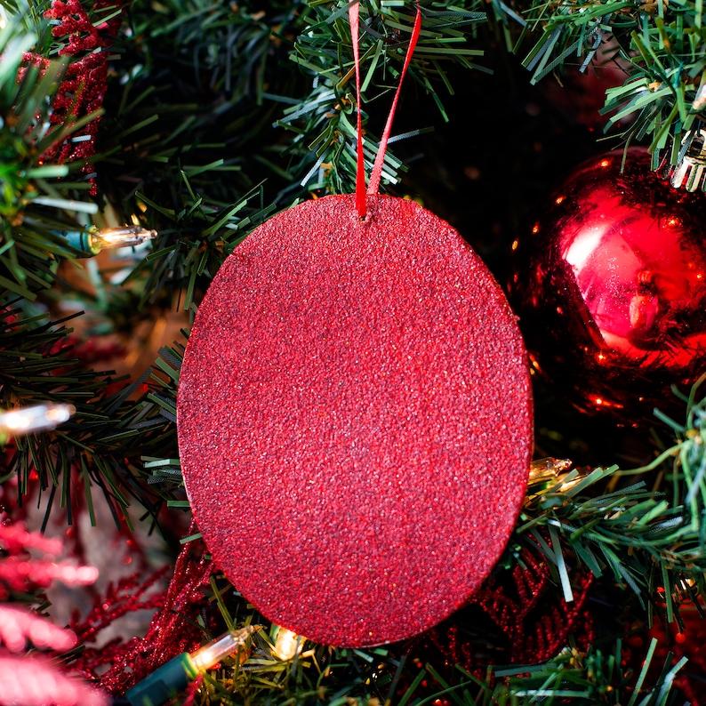English Bulldog Resin Christmas Ornament