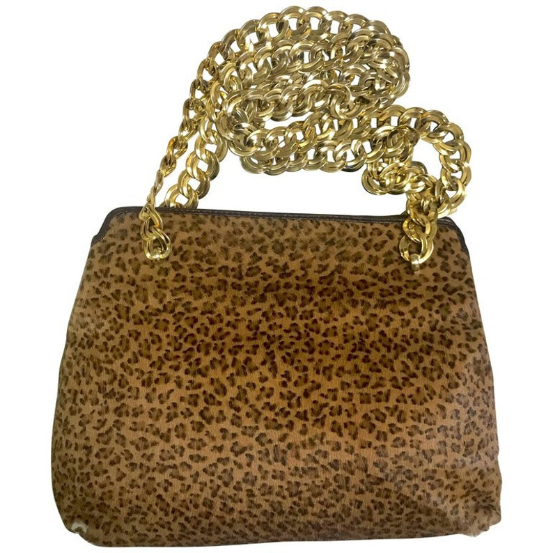 Vintage Bottega Veneta genuine leather shoulder bag with  a2a9993f9b7d4