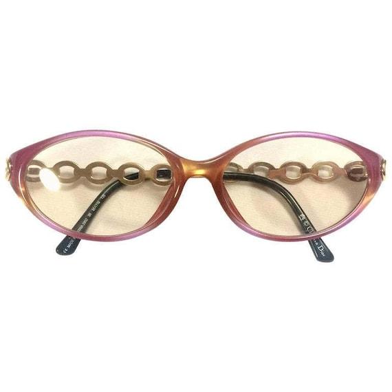 60's, 70's vintage Christian Dior pink and orange