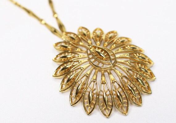 Mid-Century Monet Pendant Necklace