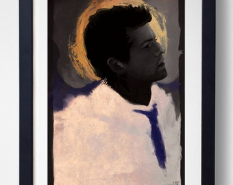 I'm an Angel of the Lord - Castiel Print