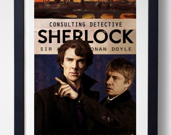 The Only One in the World - BBC Sherlock Print