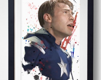 The Star Spangled Man with a Plan - Capitan America Print