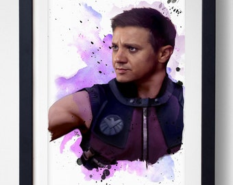 I See Better From A Distance - Hawkeye Print