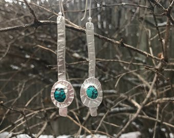 SOLD-Turquoise Ear Slabs- can make to order