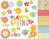 Items similar to Clipart Combo - Spring Has Sprung ...