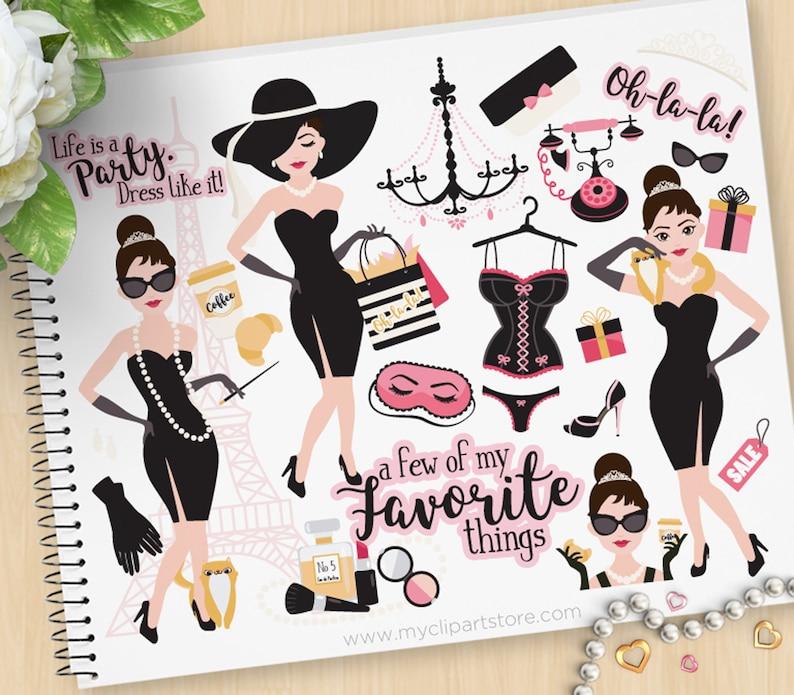 Tiffany's Fashion Little Black Dress Prom Girl image 0