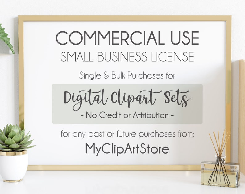 Commercial License for Small Business Use Single or Bulk image 0