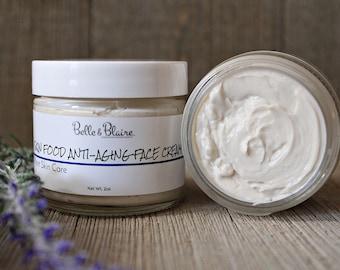 Best Seller! Skin Food Anti-Aging Face Cream- Plant Based Organic Skin Care- Natural Facial Moisturizer