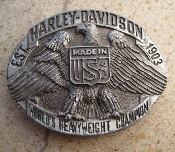 Harley Davidson 1970s Worlds Heavyweight Champion