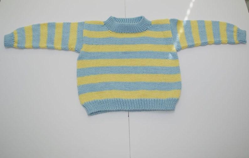5b51a652d Girls Striped Sweater Girls yellow Sweater Toddler Sweater