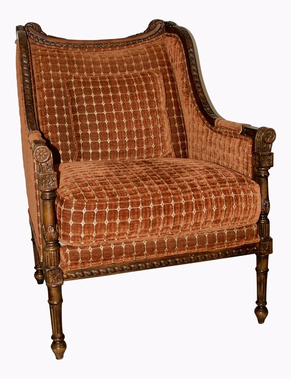 Excellent 1970S Vintage European Revival Slope Lounge Chair Alphanode Cool Chair Designs And Ideas Alphanodeonline