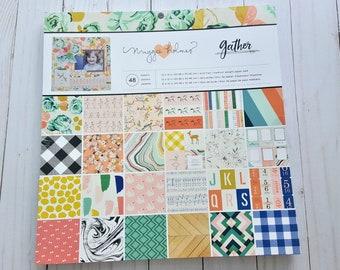 Craft Smith Design-papel bloque 30,4 x 30,4cm say Freeze 48 hoja