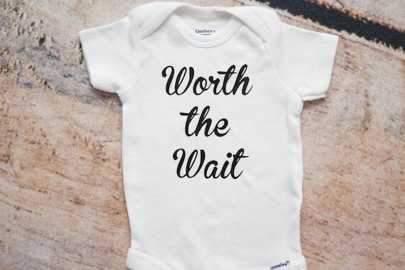 b24f2260a978 Worth the Wait ONESIES® IVF Gift Coming Home Outfit Newborn