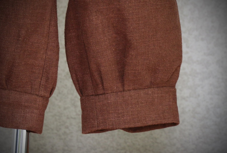 Chocolate Linen Knickers Ready to Ship Communion Baptism Previous Rental Size 112 Ring Bearer Bar Mitzvah