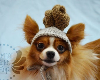 ANY Sizes/Colors Pet Poop Hat Beanie (XS-XL) Poo Turd