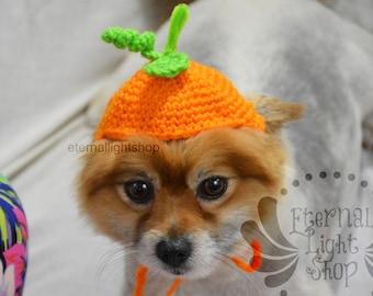 Pet Pumpkin Hat Beanie (XS-XL) Any Colors
