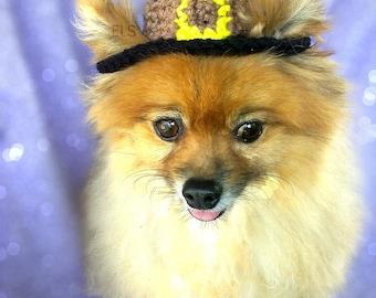 Pet Pilgrim Hat (XS-XL)