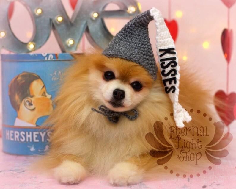 Customizable Pet Candy Hat Beanie Costume Prop XS-XL