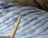 Lux BULKY spun yarn- 3.5oz/100 gr - Merino Superfine 16 micron - Baby Blanket Yarn -