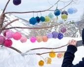 15 Balls GIANT Yarn - 3LB + /1500 gr - multicolor pack -