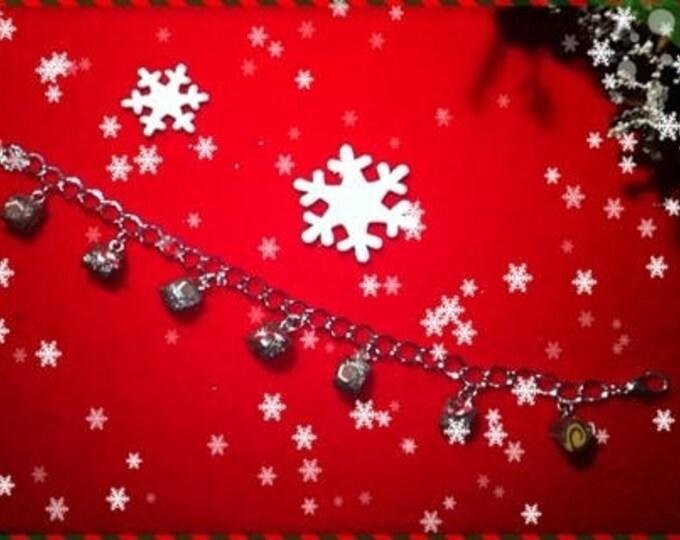 Charm bracelet log Christmas ref 46