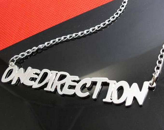 Collier One Direction Argenté