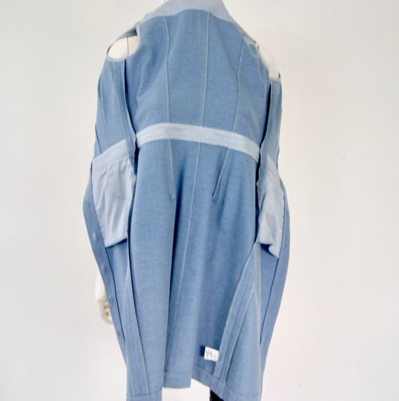 Vintage ESCADA Denim Dress, - image 10