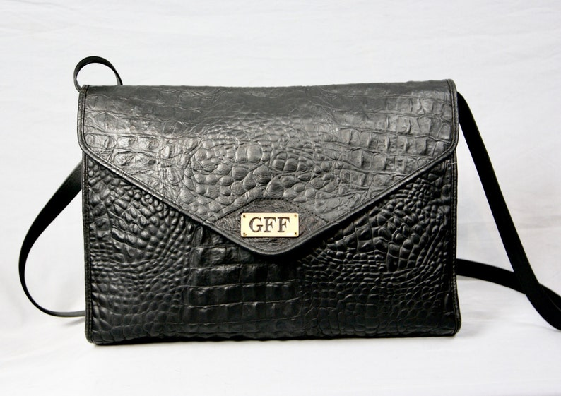 GIANFRANCO FERRE GFF Vintage vera pelle coccodrillo modello  12e2f929f52