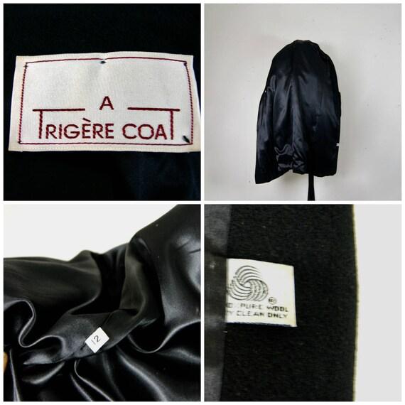 Pauline Trigère Coat, 1980s Ranch Mink Trimmed St… - image 9