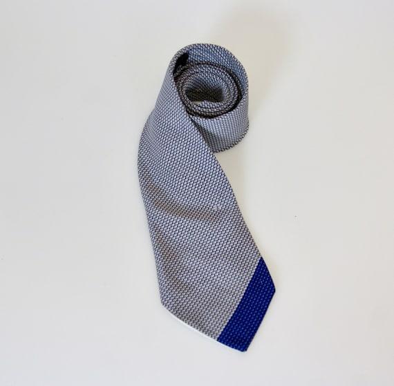 CHANEL Paris Cravate, 1990s 100% Silk Necktie