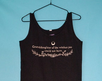 Granddaughters of the witches you could not burn - Dress | 100% organic cotton | feminist