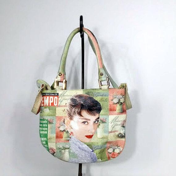 """Massimo Trulli - """"Audrey Hepburn"""" Leather Pocketbo"""