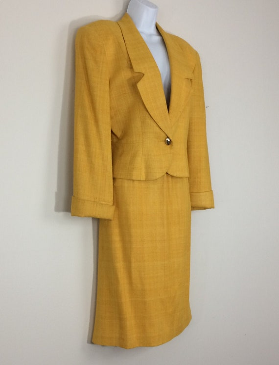 Christian Dior Gold Women's Suit
