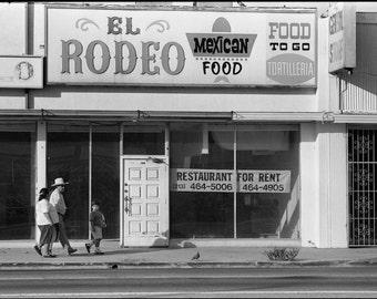 Los Angeles Street Photography- Echo Park on Sunset Blvd.
