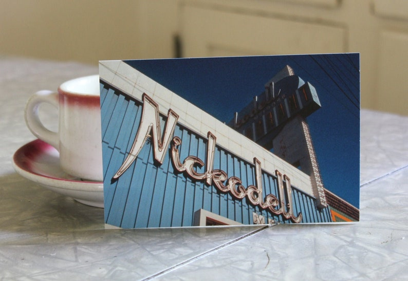Photo Postcards   Extinct Los Angeles Coffee Shops image 0